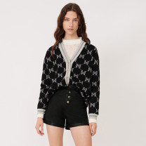 short coat Autumn 2020 L,M,S black Long sleeves routine Single breasted 31% (inclusive) - 50% (inclusive) L21087 wool