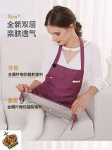 Radiation protection apron 58BCE6070 Double protection] grey metal fiber + 100% silver, double protection] purple metal fiber + 100% silver, double protection] pink metal fiber + 100% silver 58BCE6070 Other / other Surface: metal blended fiber; liner: silver fiber Average size Four seasons