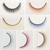 【 full 68 free shipping 】 BJD eyelash give box   Baby use simulation eyelash Thick style eleven   8 colour class 4D eyelash