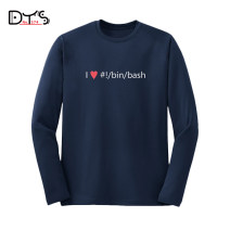 T-shirt other Black, Navy routine S,M,L,XL,2XL 374 ROAD Long sleeves Crew neck easy Other leisure autumn Cotton 100% youth routine Sweat cloth 2018 printing