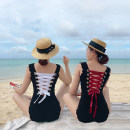 one piece  shiyu M,L,XL White, red Triangle one piece swimsuit With chest pad without steel support other female other