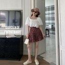 skirt Summer 2020 L,XL,2XL,3XL Short skirt Versatile High waist Irregular Decor Type A 25-29 years old 91% (inclusive) - 95% (inclusive) other other