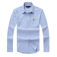 shirt Business gentleman Paul Mogan / Paul Morgan routine Pointed collar (regular) Long sleeves Self cultivation daily Four seasons youth Business Casual oxford No iron treatment Embroidery
