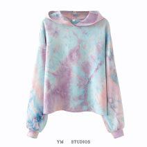 Sweater / sweater Autumn 2020 S,M,L Long sleeves Socket singleton  routine Hood easy street Europe and America