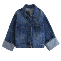 short coat Spring of 2019 S,M,L Picture color [9215] Long sleeves routine routine singleton  easy Single breasted xqb1904801600