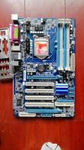 a main board Desktop I won't support it brand new support Gigabyte / Gigabyte Intel 32GB I won't support it ATX standard Four channels DDR3 LGA1156 VGA White, red, green P55