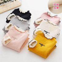 T-shirt Shell element 90cm,100cm,110cm,120cm,130cm,140cm,150cm female winter Long sleeves Crew neck lady No model nothing other other Class B 2, 3, 4, 5, 6, 7, 8, 9, 10, 11, 12, 13, 14 years old