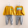 suit Shell element Grey in yellow 90cm,100cm,110cm,120cm,130cm,140cm female spring and autumn Long sleeve + pants Socket tz4831 Class B Other 100% 2, 3, 4, 5, 7, 6, 8, 9, 10, 11, 12, 13, 14