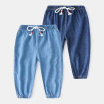 trousers Shell element male 90cm,100cm,110cm,120cm,130cm,140cm,150cm Light blue, dark blue summer trousers Europe and America Leggings Don't open the crotch kzd032 Class B 2, 3, 4, 5, 6, 7, 8, 9, 10, 11, 12, 13, 14 years old