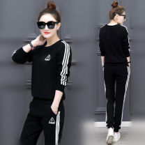 Casual suit Autumn 2020 S,M,L,XL,2XL,3XL 18-25 years old Other / other 30% and below cotton