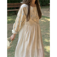 Dress Summer 2021 Shirt, suspender skirt Average size Mid length dress Two piece set commute High waist Socket 18-24 years old Korean version 3517# 31% (inclusive) - 50% (inclusive) other