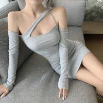 Dress Autumn 2020 grey S,M,L
