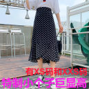 skirt Summer 2021 Xs, s, m, l, XL, XXS genuine small 145-155 Wave point, broken flower Mid length dress Versatile High waist A-line skirt Dot Type A 18-24 years old seven thousand one hundred and seventy-four More than 95% other Zhenyaluo other