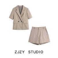 suit Spring 2021 Apricot suit, apricot Suit Shorts, black suit, black shorts XS,S,M,L