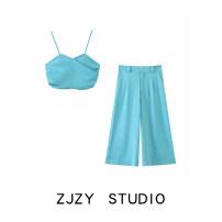 Fashion suit Summer 2020 S,M,L Top, Capris