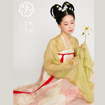 Hanfu 96% and above Autumn 2020 The first batch of full bodied shirts and skirts (excluding silk petticoat), petticoat (remark on sling or tripping), and the second batch of full bodied shirts and skirts (excluding silk petticoat) S,M,L,XL silk