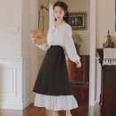 Fashion suit Spring 2020 S,M,L 8993 lining skirt + 8994 lining skirt 18-25 years old 31% (inclusive) - 50% (inclusive) cotton