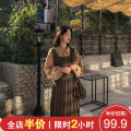 Women's large Spring 2020 Picture color fishtail suit S M L XL 2XL 3XL 4XL skirt Two piece set Sweet easy thickening Socket Long sleeves Floral dot stripe check solid One word collar Medium length Three dimensional cutting puff sleeve C8456 Shu Xinyuan 18-24 years old Gouhua hollow longuette trousers