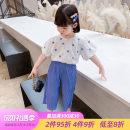 shirt female Little elk Tang summer Short sleeve Korean version printing other Other 100% XLXP2688-1 Class B Summer 2021 18 months, 2 years old, 3 years old, 4 years old, 5 years old, 6 years old, 7 years old, 8 years old 90cm 100cm 110cm 120cm 130cm 140cm Black blue