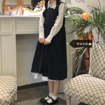 Fashion suit Spring 2021 S,M,L,XL Strap skirt (one piece), shirt skirt (one piece) 18-25 years old Other / other 51% (inclusive) - 70% (inclusive)