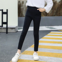 trousers Other / other female Black, black plush spring and autumn trousers Korean version There are models in the real shooting Leggings Leather belt middle-waisted Don't open the crotch Class B 2, 3, 4, 5, 6, 7, 8, 9, 10, 11, 12, 13, 14 years old Chinese Mainland Zhejiang Province Huzhou City