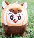 Plush cloth toys 6 years old Arctic fox Hoon Arctic Dudu chicken Dudu bear raccoon 10 cm - 19 cm Other / other H