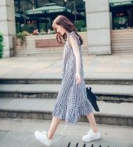 Women's large Summer of 2018 Black and white Jacket / jacket singleton  commute easy thin Socket Sleeveless lattice lady Crew neck other Three dimensional cutting routine GZ-24 Xiaofei 25-29 years old 81% (inclusive) - 90% (inclusive) Medium length 181g / m ^ 2 (including) - 200g / m ^ 2 (including)