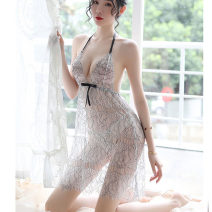 Nightdress Other / other picture Average size sexy camisole pajamas Short skirt summer V-neck