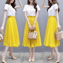 Fashion suit Summer 2021 S,M,L,XL,XXL yellow 18-25 years old 96% and above nylon