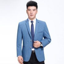 man 's suit As shown in the picture Others other routine 165,170,175,180,185,190 106-8310 Self cultivation Two double breasted Other leisure No slits middle age Long sleeves winter routine Business Casual Round hem other 2019 Bag digging with open cut thread other other