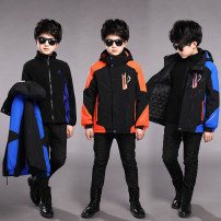 Plain coat male winter leisure time Zipper shirt There are models in the real shooting Plush No detachable cap other other other Other 100% Class C