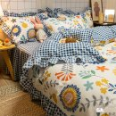 Bed skirt polyester fiber Puxi Plants and flowers 618862930339_ GfSg1