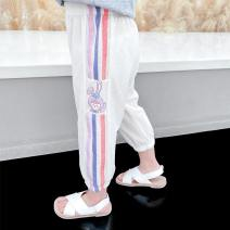 trousers McDonnell female 80cm 90cm 100cm 110cm 120cm 130cm White purple orange summer trousers There are models in the real shooting Harlem Pants / knickerbockers Leather belt middle-waisted Other 100% Class A Summer 2021 Chinese Mainland Guangdong Province Jiangmen City
