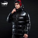cotton-padded clothes Black, blue Cartelo / Cartelo crocodile S. M, l, XL, 2XL, 3XL, 4XL Youth fashion thickening have cash less than that is registered in the accounts standard motion KDY328 Triacetate fiber 80% diene elastic fiber 20% Detachable cap youth zipper Silk like cotton Straight hem badge