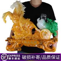 Ornaments животное смола неоклассический Обои для рабочего стола Гостиная Jinruixiang удачливый Four hundred and forty-one Полуавтоматический