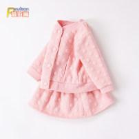 suit Peyilean Pink (bubble skirt suit 16308) Purple (bubble skirt suit 16308) 73 / recommendation 65-75cm 80 / recommendation 75-82cm 90 / recommendation 82-90cm 100 / recommendation 90-100cm 110 / recommendation 100-110cm female spring and autumn Korean version Long sleeve + skirt 2 pieces routine