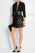 skirt Summer 2020 S,M,L Khaki, coffee Short skirt street High waist A-line skirt Type A More than 95% Sheepskin Europe and America