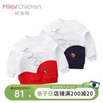 Sweater / sweater Milo bear Navy Red neutral 80cm 90cm 100cm 110cm 120cm winter nothing cotton printing Cotton 95% polyurethane elastic fiber (spandex) 5% M0353SA12 Class A