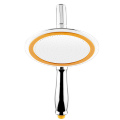 """Shower faucet (suit) Fixed rotatable Other / other Single flower shower head other Wall mounted Single handle double control Intra city logistics delivery .0.0n 6 """"Top spray dual purpose shower circular"""