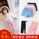 trousers Beijirog / Arctic velvet neutral 110cm 120cm 130cm 140cm 150cm Casual pants Leather belt middle-waisted Don't open the crotch Summer 2020 Chinese Mainland