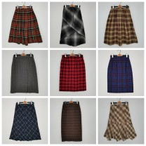skirt Winter 2020 Please see the tag for size 1#,2#,3#,4#,5#,6#,7#,8#,9# commute More than 95% Wool