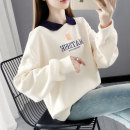 Sweater / sweater Spring 2021 Rose red off white blue purple orange S M L XL Long sleeves routine Socket singleton  routine other easy commute routine Cartoon animation 96% and above Shebetsy Korean version other X5015 Cotton liner Other 100%