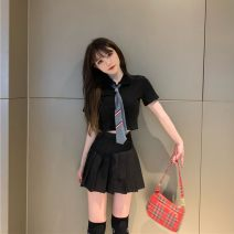 student uniforms Summer 2020 S,M,L,XL Short sleeve solar system skirt 18-25 years old Other / other 30% and below