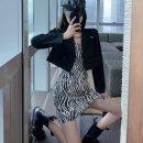 Fashion suit Autumn 2020 S,M,L Black coat, zebra sling Other / other 1-cbyr4snY