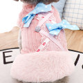 Pet clothing / raincoat Dog skirt XS (about 1-3 kg) s (about 5 kg) m (about 7 kg) l (about 8-10 kg) XL (about 10-13 kg) Le Shuang pet leisure time Pink