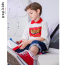 T-shirt gxg kids 110cm 120cm 130cm 140cm 150cm male summer Short sleeve Crew neck leisure time There are models in the real shooting nothing Cotton blended fabric Cotton 95% polyurethane elastic fiber (spandex) 5% other Summer of 2019