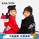 Plain coat gxg kids male 110/56 120/60 130/64 140/64 150/68 Red 100% cotton new year red and black for men and women winter leisure time Zipper shirt There are models in the real shooting thickening nothing cotton 12C121003L Cotton 100% other Winter 2020