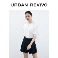 Casual pants It's black S XL XS L M XXL Summer 2020 shorts Wide leg pants Natural waist 25-29 years old 71% (inclusive) - 80% (inclusive) UR polyester fiber Polyester fiber 74% viscose fiber (viscose fiber) 19% polyurethane elastic fiber (spandex) 7%