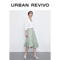 shirt Benbai S XL XS L M Summer 2020 Viscose 51% (inclusive) - 70% (inclusive) three quarter sleeve Original design Regular other Solid color 25-29 years old UR 1WH18S2GE2001 Viscose (viscose) 55% Lyocell (Lyocell) 45% Same model in shopping mall (sold online and offline)