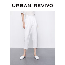 Casual pants Benbai S XL XS L M Summer 2020 Ninth pants Haren pants Natural waist 25-29 years old 1WE14S6EN2003 UR Viscose (viscose) 73% polyester 27% Same model in shopping mall (sold online and offline)
